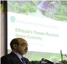 """Prime Minister Meles Zenawi"""