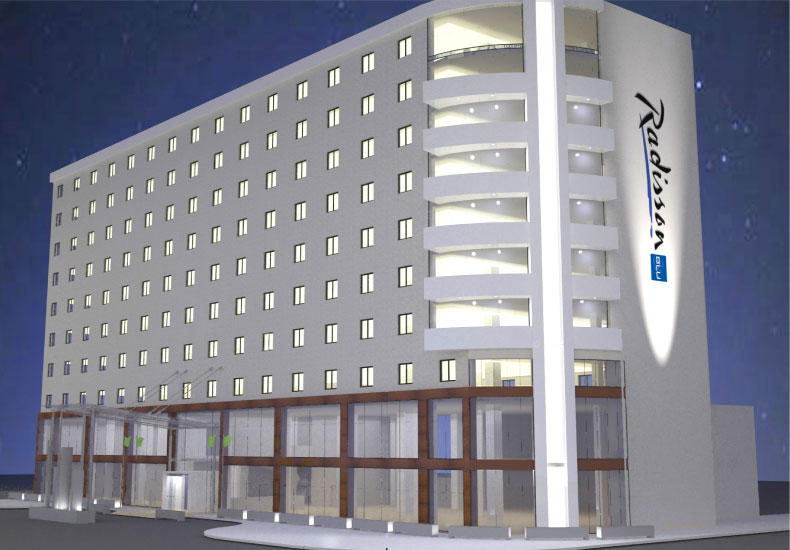 The New Radison Blu Hotel in Addis Ababa