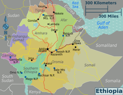 Ethiopia_regions_tourist sites