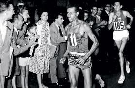 Abebe Bikila Marathon Victory in Rome