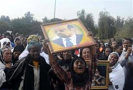 Ethiopians Mourn as their Great Leaders Body Returns Home