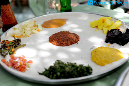 Ethiopia's vegetarian food