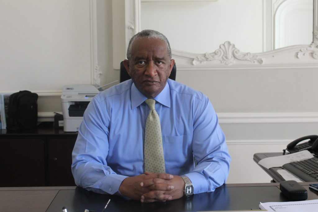 H.E Ambassador Grum Abay Special Envoy, Extraordinary and Plenipotentiary of the Federal Democratic Republic of Ethiopia to Belgium, Luxembourg and E.U. institutions
