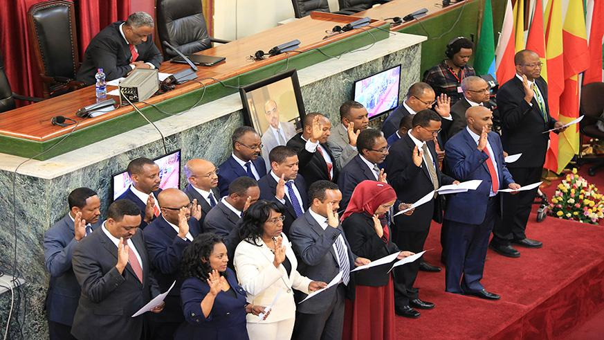 Ethiopiau0027s New Prime Minister, Abiy Ahmed, Named His Cabinet Members On 19  April As Well As Heads Of Relevant Federal Government Organizations.