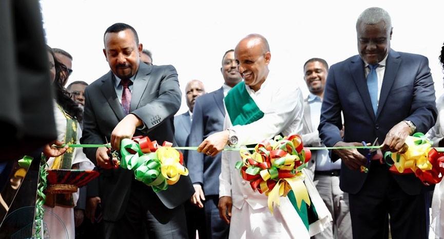 Ethiopia Prime Minister inaugurates expanded Bole airport